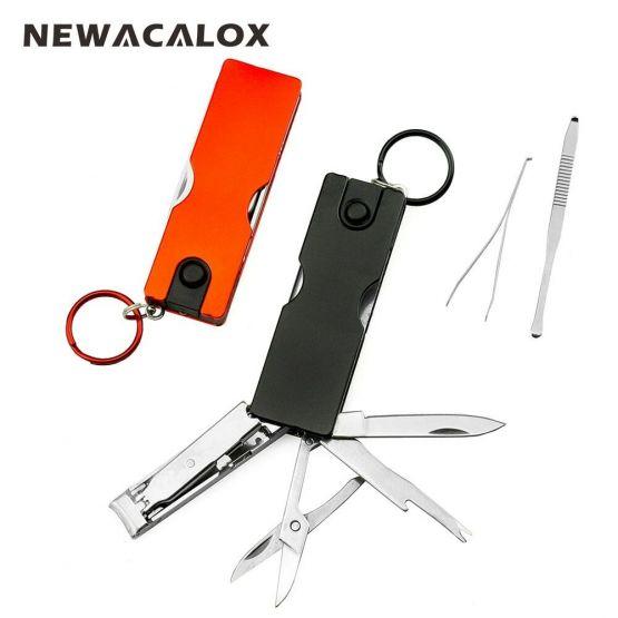 NEWACALOX мини-нож брелок