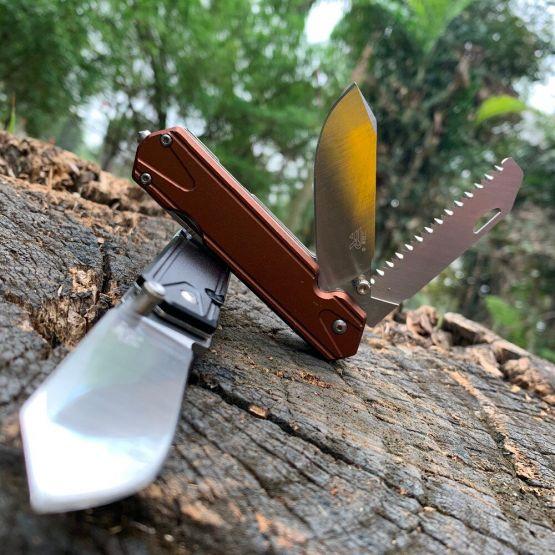 Sanrenmu 7117 карманный складной нож