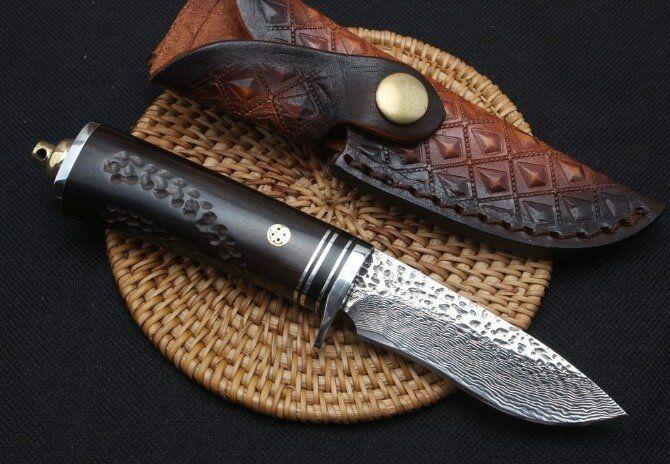 TRSKT Дамаск Коллекционный нож