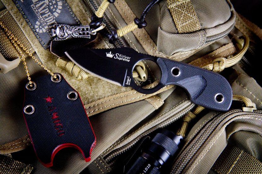 Шейный нож Amigo Z