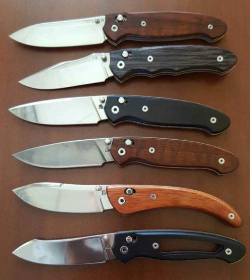 Популярные модели ножей Чебуркова