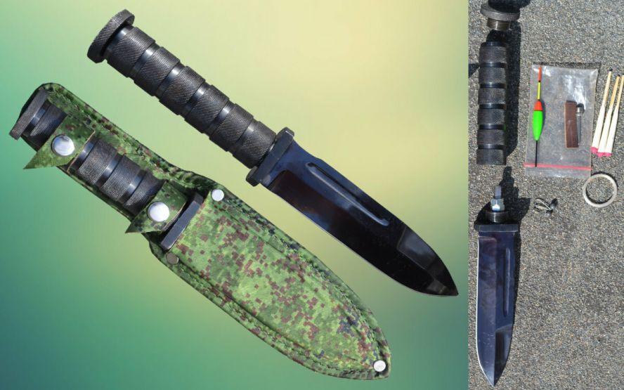 Один из худших вариантов ножа этого сегмента из-за ПОЛНОСТЬЮ полой рукояти