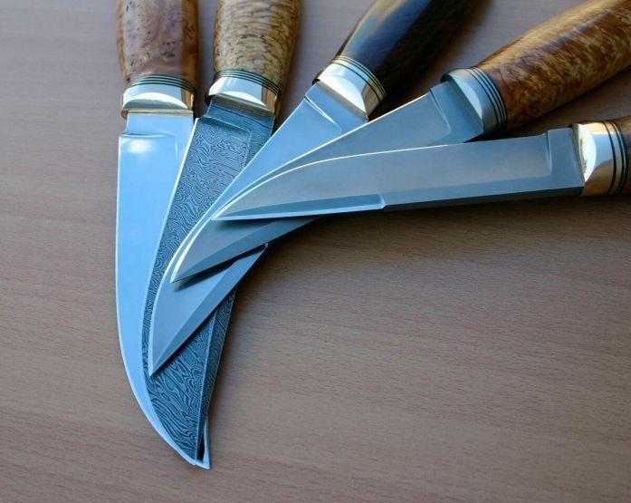 Ножи из разных сталей