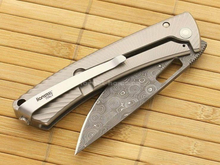 Lion Steel TiSpine