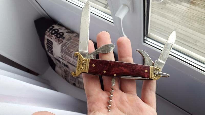 охотничий многофункциональный нож