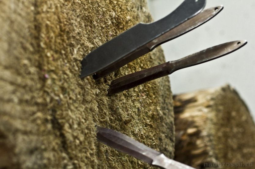 Можно ли сделать метательный нож своими руками?