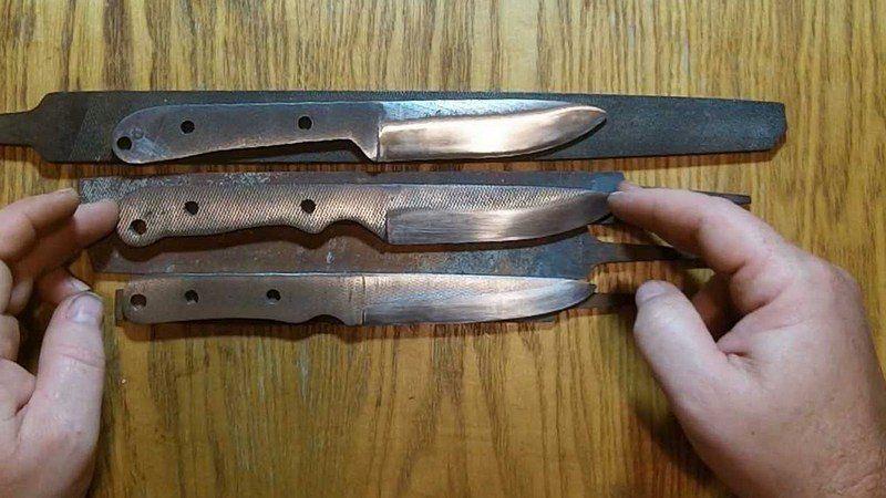 Как сделать метательный нож из напильника