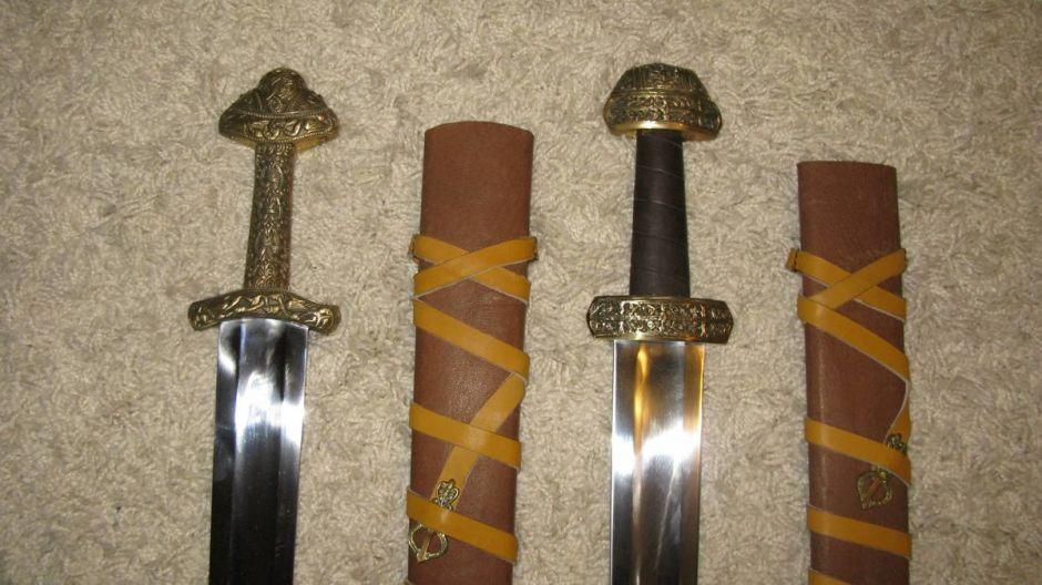 Особенности мечей викингов