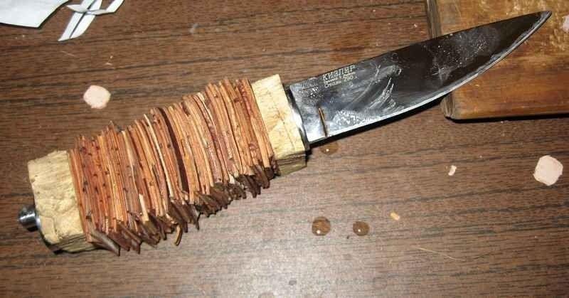Натуральные материалы, из которых делают рукояти для ножей