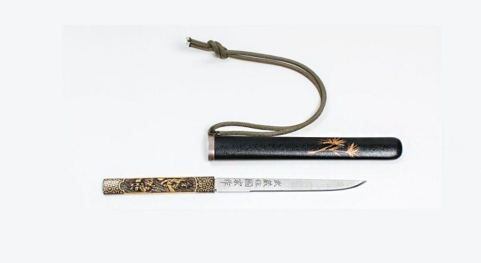 Самые первые ножи боевые ножи самураев