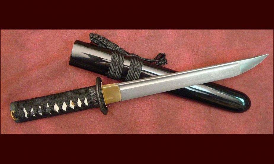 Самый знаменитый самурайский нож танто