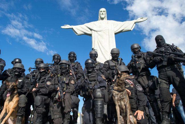 Немного про историю бразильского спецназа BOPE