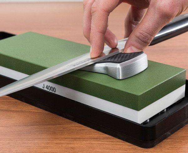 Как правильно подобрать камни для заточки ножей?