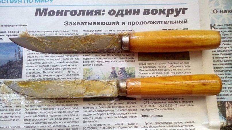 Долгосрочное и краткосрочное хранение ножей