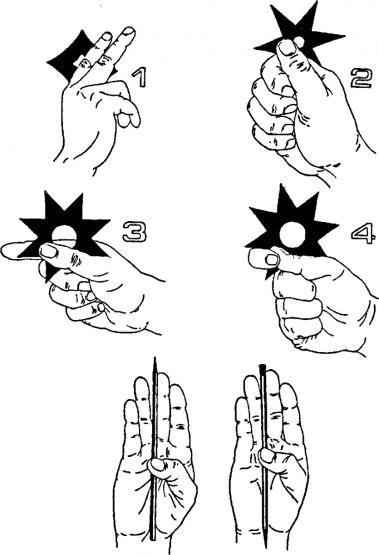 Особенности техники метания сюрикенов