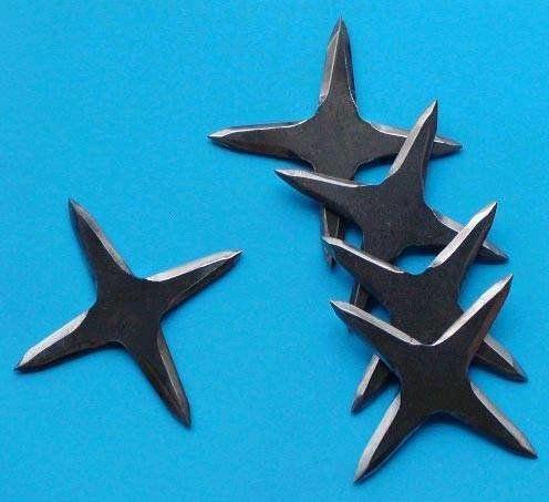 Ниндзя и боевые «звёздочки»