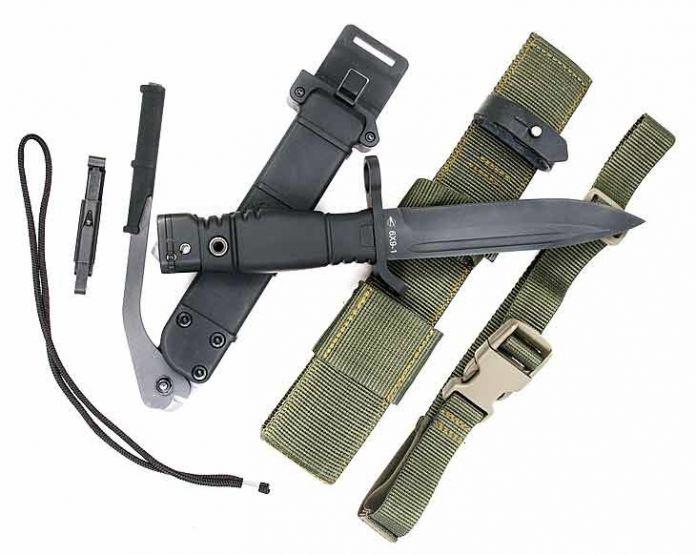 Тактико-технические характеристики и комплектация ножа 6Х9