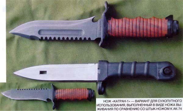 История появления оригинального ножа «Катран»