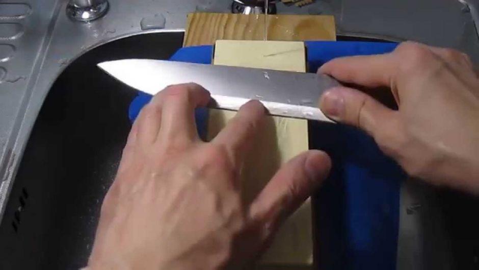 Процесс заточки на абразивных камнях подробно