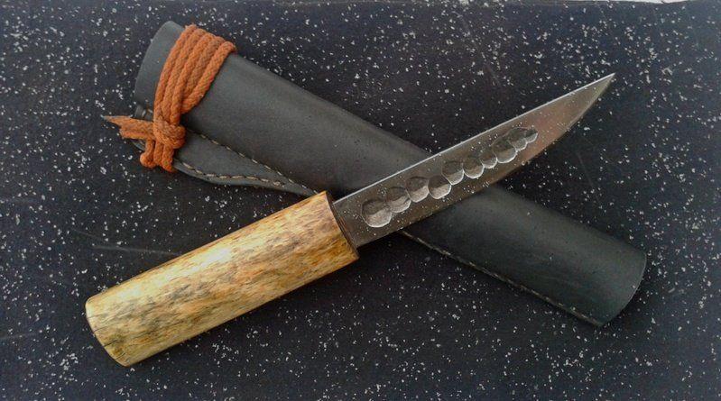 Рукоять настоящего «якута»