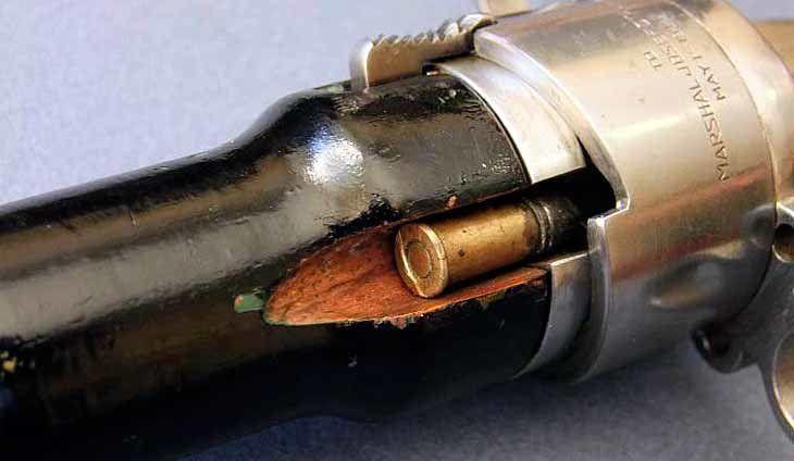 Технические сведения о пистолете-кинжале Сталина