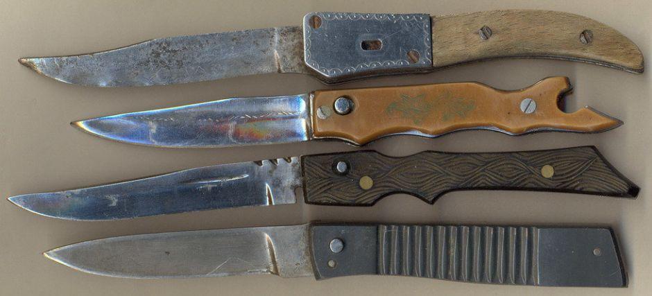 Нож из супер стали, украденной на секретном заводе