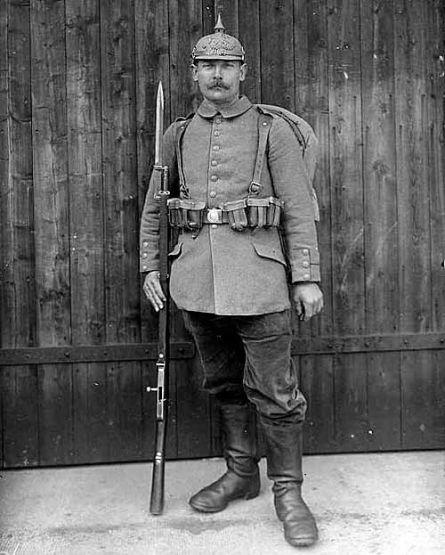 Новый штык и его испытания во время Первой мировой войны