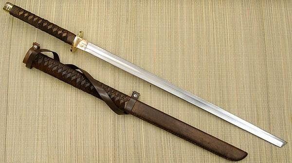 Каким был настоящий меч ниндзя?