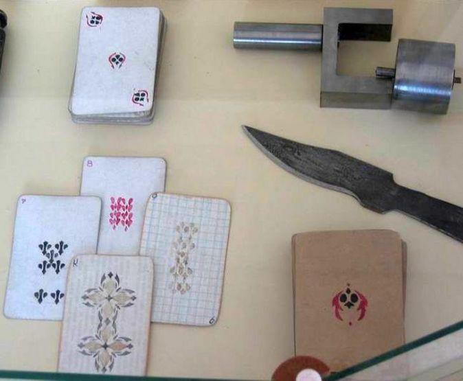 Как выглядят зэковские ножи?