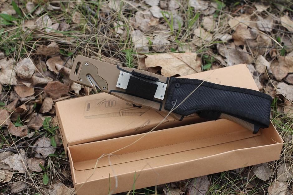 Обзор ножа Ganzo G8012 Survival Knife