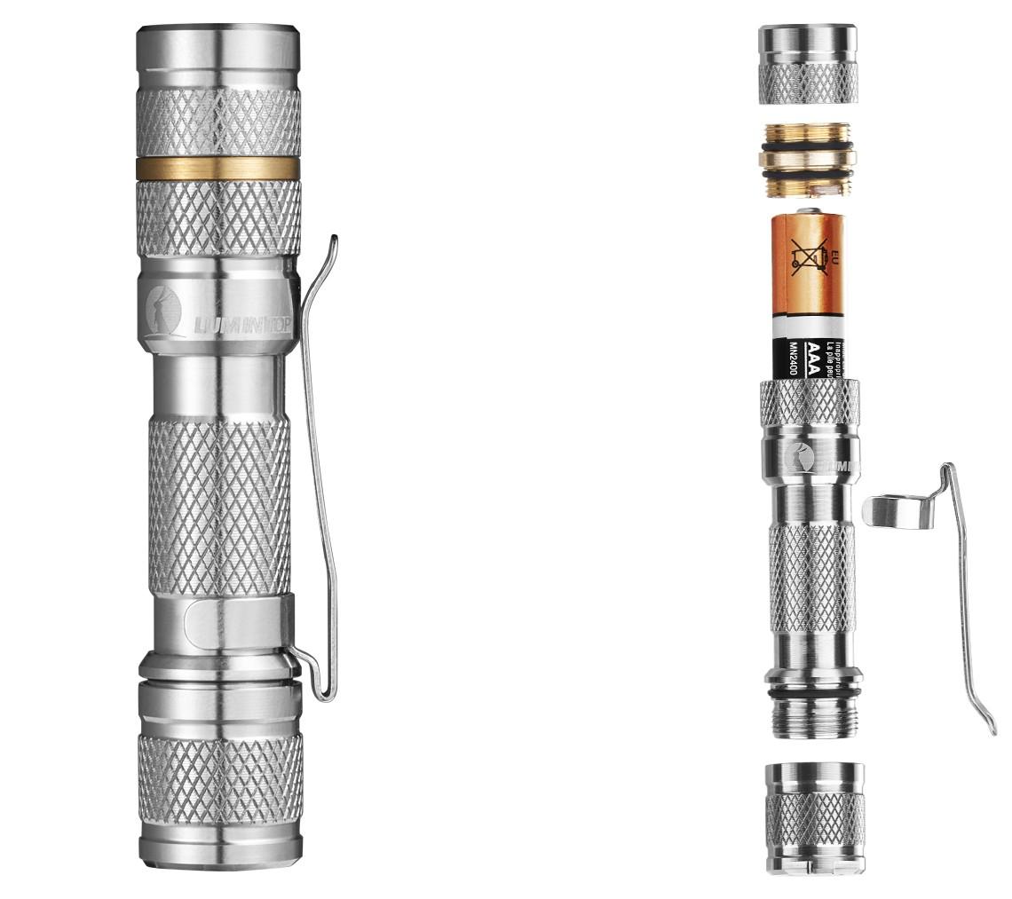 EDC фонарь —Lumintop Tool Ti AAA Flashlight