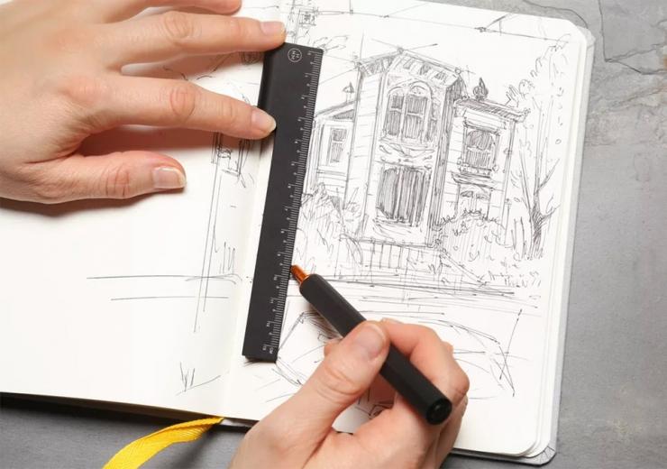 Ручка-линейка HMM Rule/One Pen