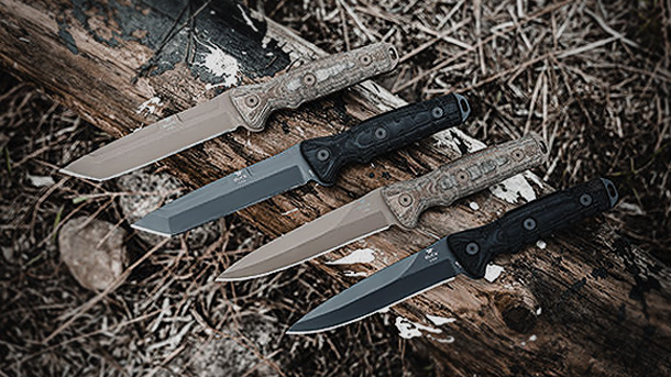 Серия Ground Combat Knife от Buck Knives