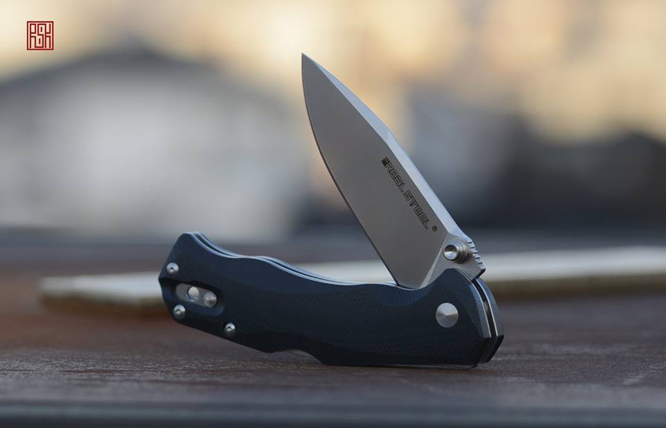 H7 Snow Leopard – инновационные модели складных ножей от Real Steel Knives